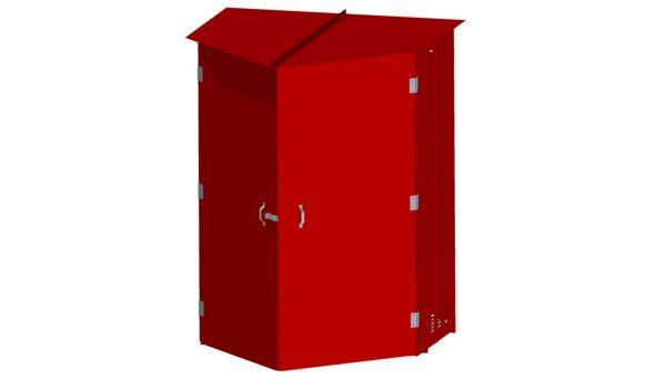 60-L Closed  sc 1 st  Van Loon Industries & Fire Equipment Storage | VLI